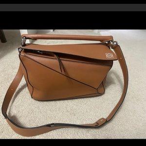 Authentic Loewe Puzzle bag medium size